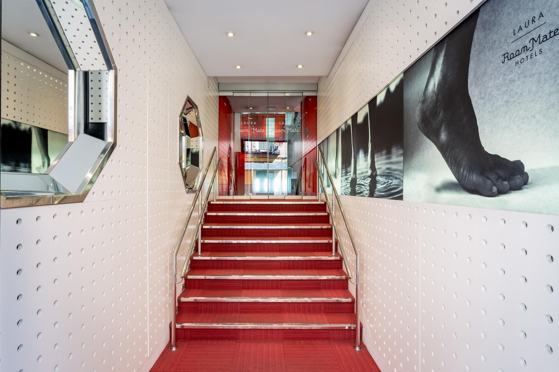 Hotels indoor room interior design Design hall step