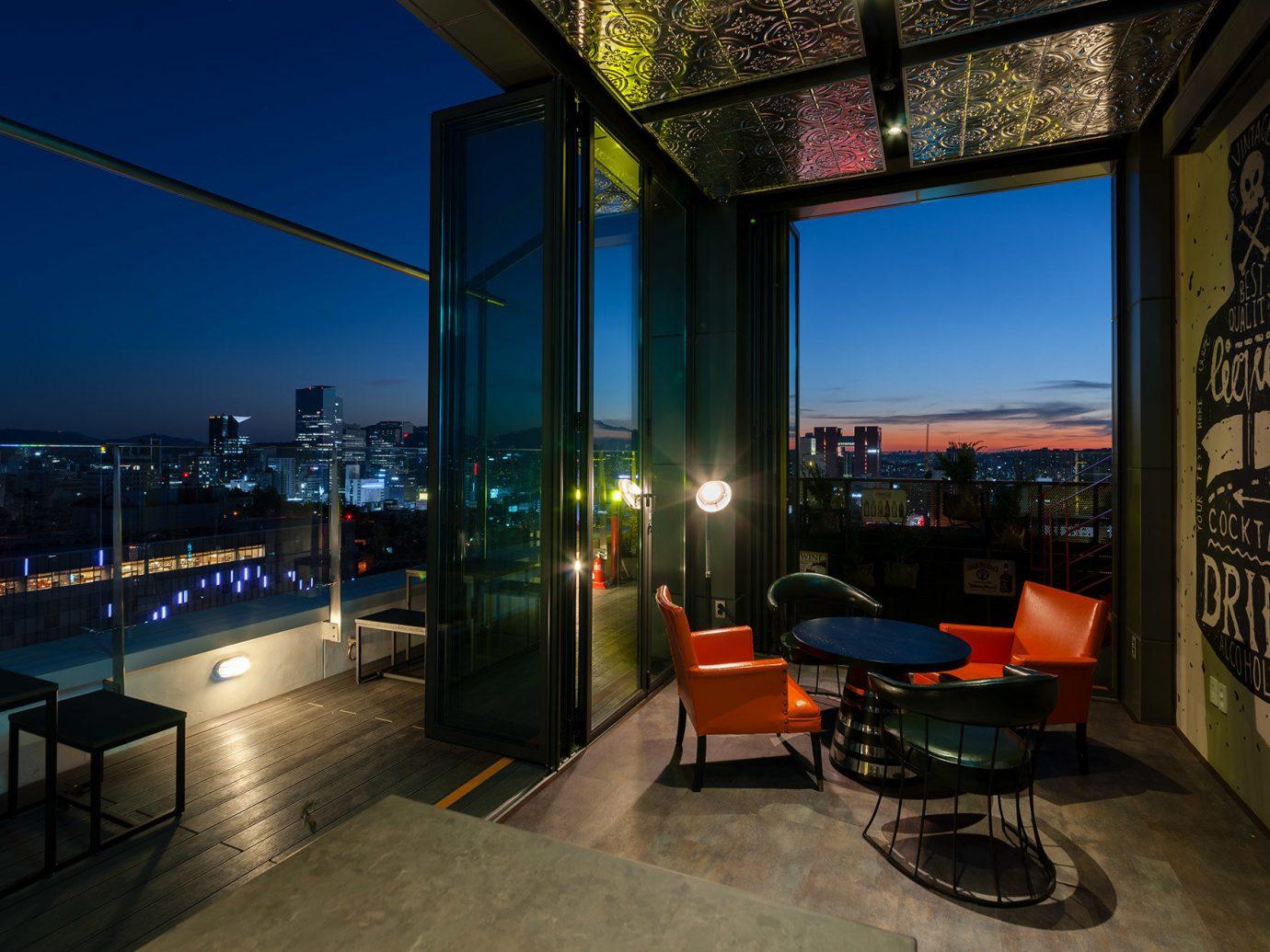 Hotels Luxury Travel floor building Architecture sky real estate home apartment interior design window condominium house Balcony hotel penthouse apartment roof