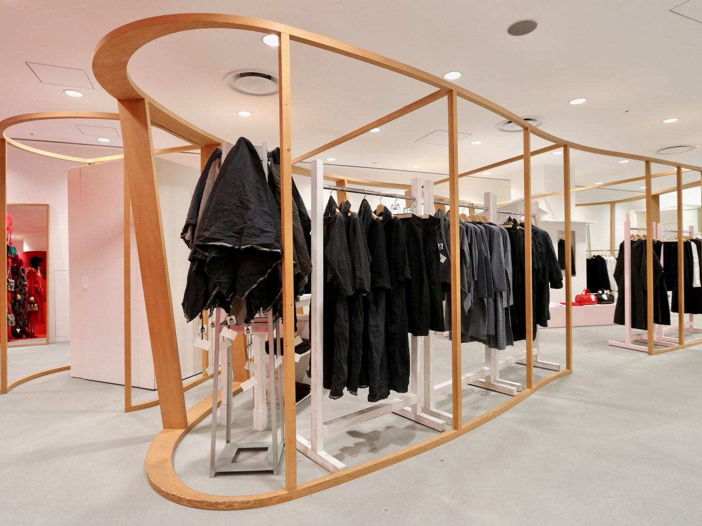 shopping Style + Design Travel Trends Trip Ideas indoor Boutique exhibition interior design product design clothes hanger furniture retail flooring product