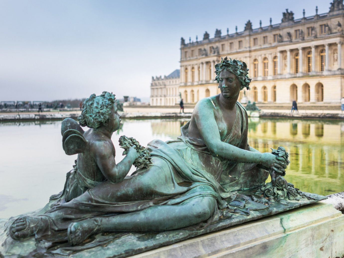 Trip Ideas outdoor sky statue monument sculpture art fountain water feature ancient history