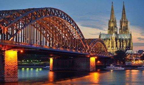 Trip Ideas bridge water outdoor sky River landmark long scene traveling cityscape