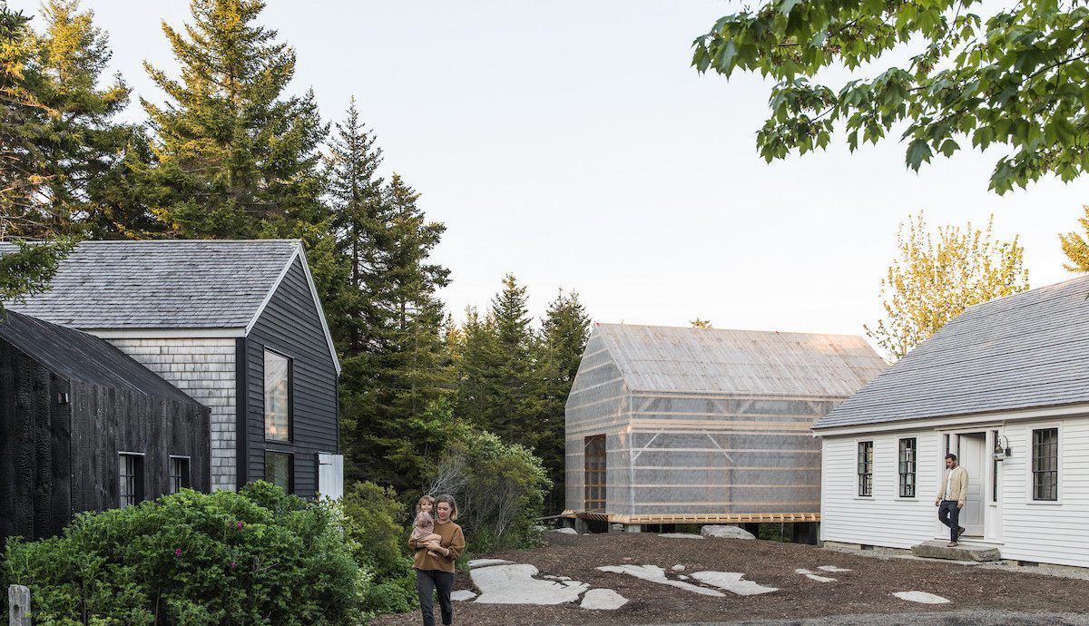 Influencers + Tastemakers house home property cottage tree farmhouse real estate residential area roof estate shed outdoor structure plant barn building facade suburb