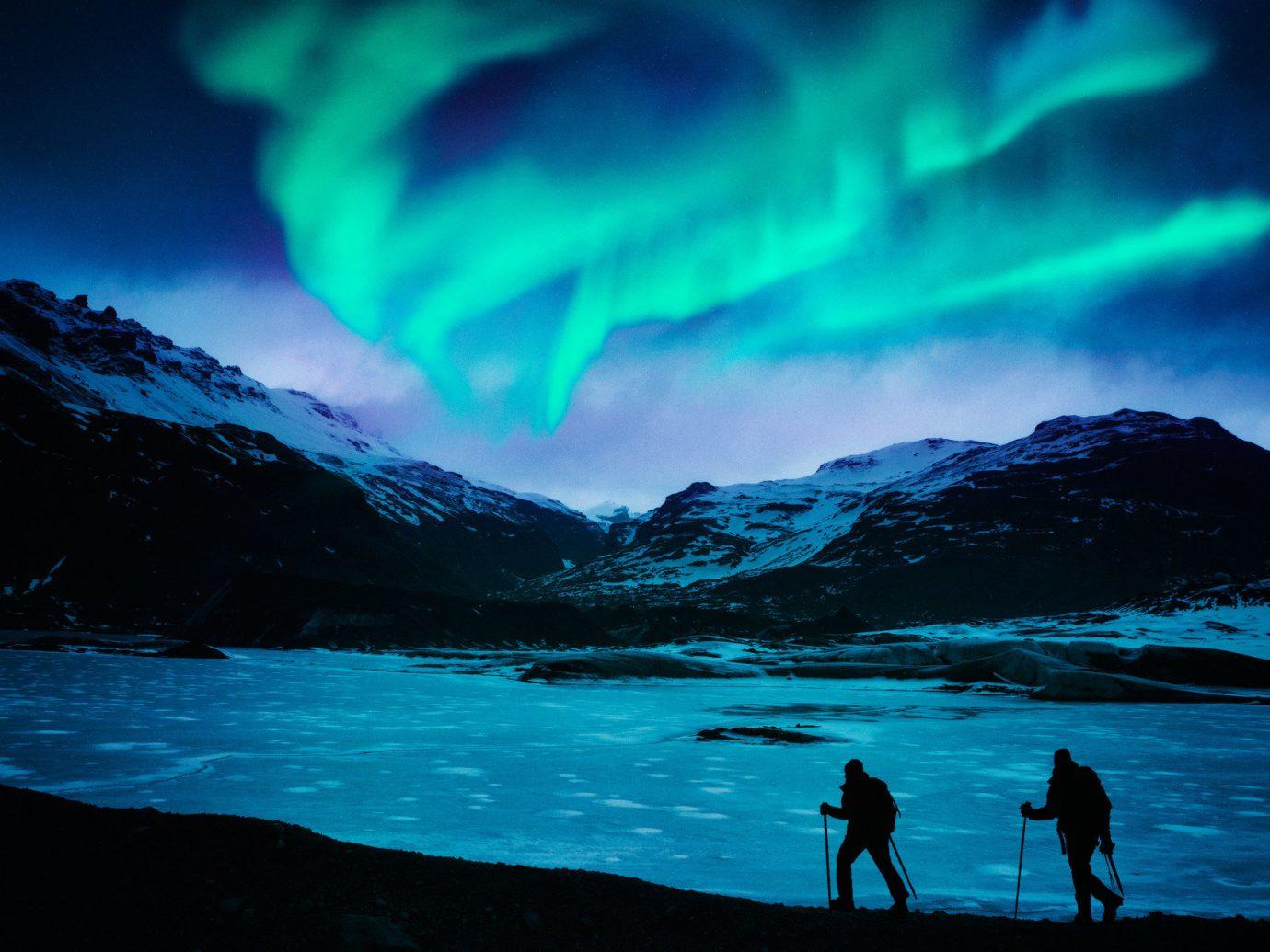 Trip Ideas water outdoor mountain aurora geological phenomenon