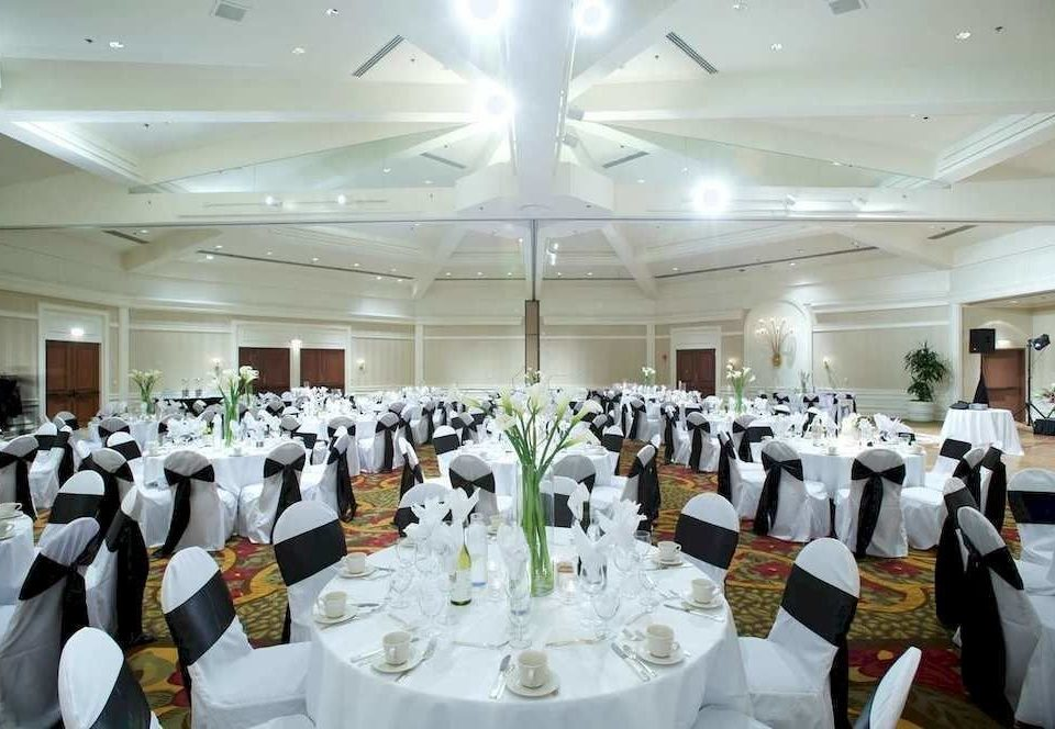 function hall banquet wedding ceremony wedding reception ballroom Party convention center aisle fancy arranged conference room