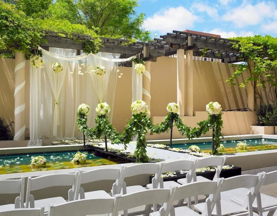tree floristry function hall flower arranging wedding ceremony flower aisle banquet backyard Party floral design wedding reception