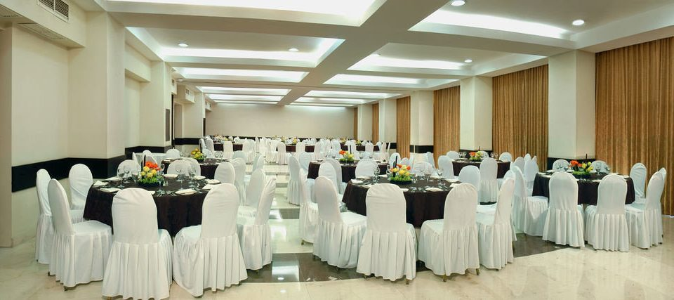 function hall white banquet wedding ceremony Party aisle ballroom event wedding reception conference hall