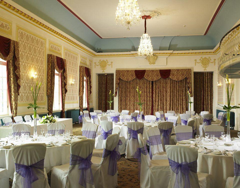function hall banquet wedding ceremony ballroom Party wedding reception event aisle fancy