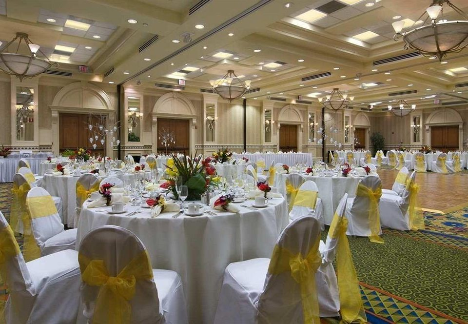 function hall banquet ceremony wedding wedding reception ballroom Party event aisle