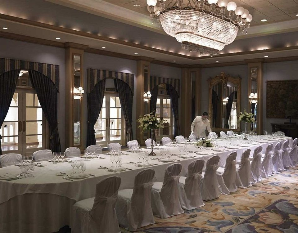 function hall banquet wedding aisle ceremony ballroom wedding reception centrepiece Party conference hall convention center row long line colonnade