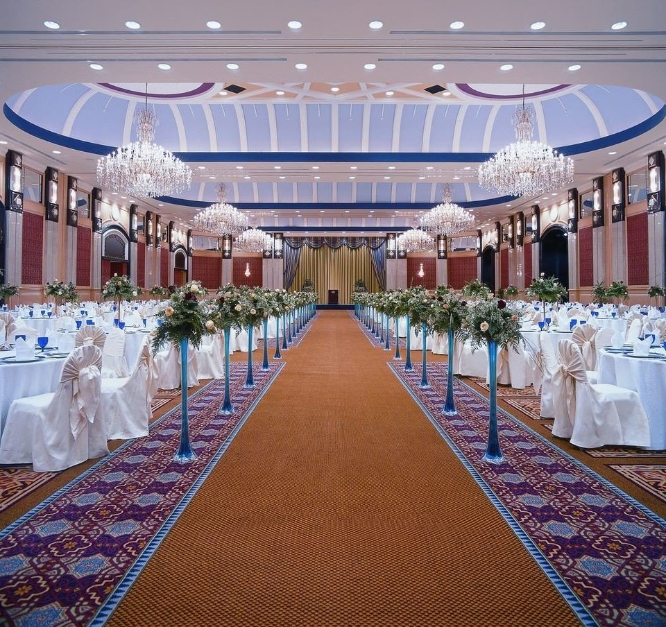 function hall aisle banquet ceremony wedding ballroom wedding reception Party convention center event