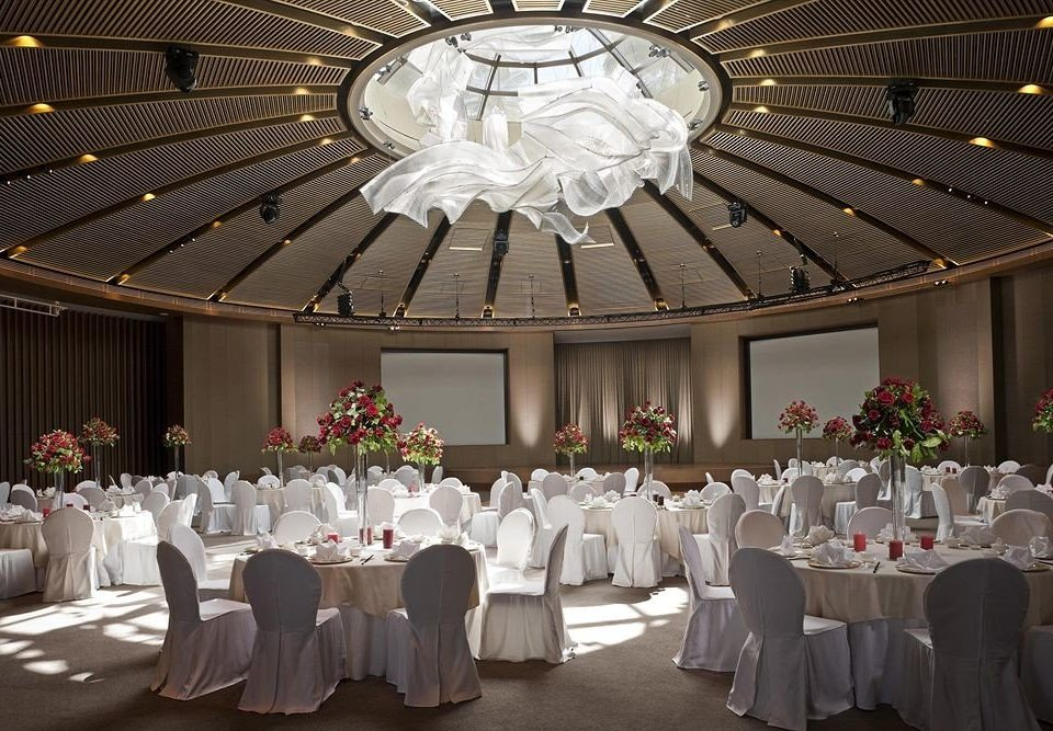 function hall wedding banquet ceremony wedding reception aisle ballroom Party centrepiece quinceañera long
