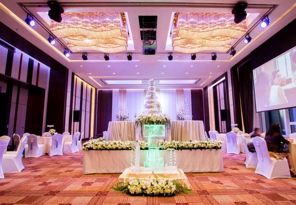function hall wedding ceremony aisle wedding reception quinceañera ballroom Party mansion banquet