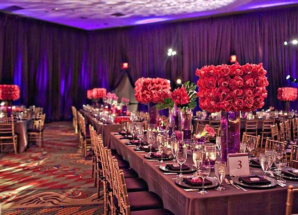 function hall wedding banquet ceremony wedding reception Party quinceañera curtain ballroom event centrepiece set