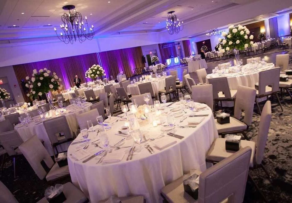 function hall banquet wedding wedding reception Party ceremony white quinceañera centrepiece ballroom event