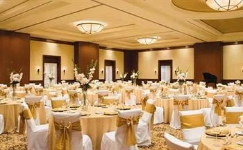 function hall banquet wedding ceremony wedding reception ballroom Party event set restaurant dining table