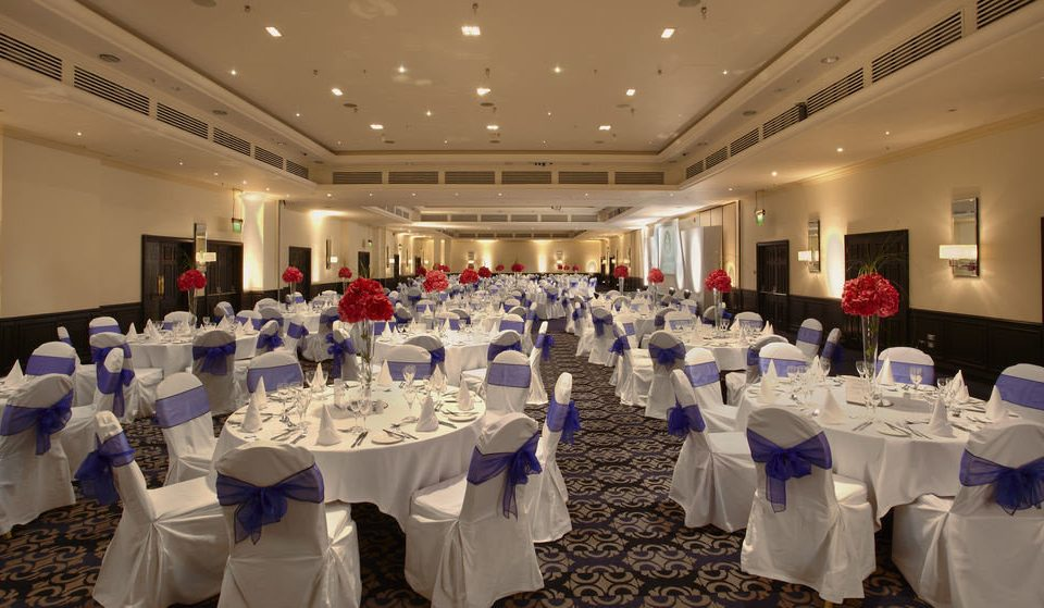 function hall banquet scene ballroom ceremony wedding reception Party event convention center clothes