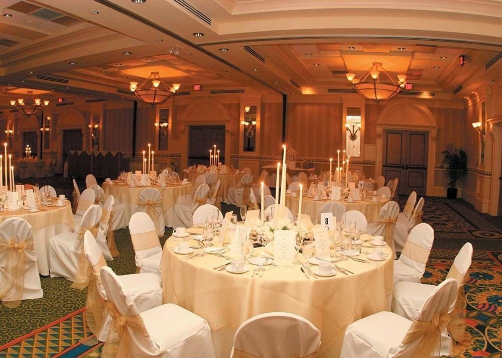 function hall banquet wedding ceremony ballroom wedding reception Party event dining table