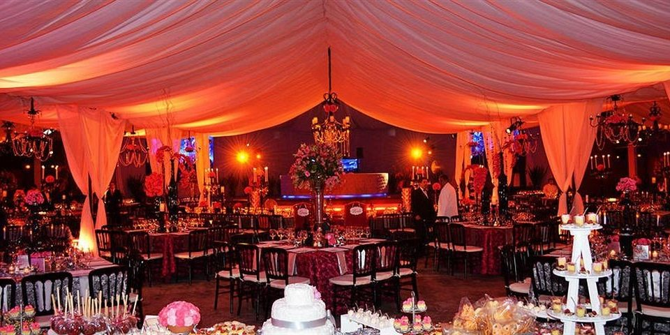 function hall wedding reception ceremony quinceañera wedding banquet Party ballroom set