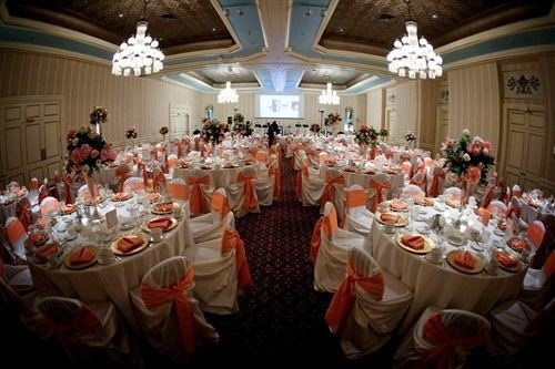 function hall banquet ceremony wedding Party wedding reception ballroom event long