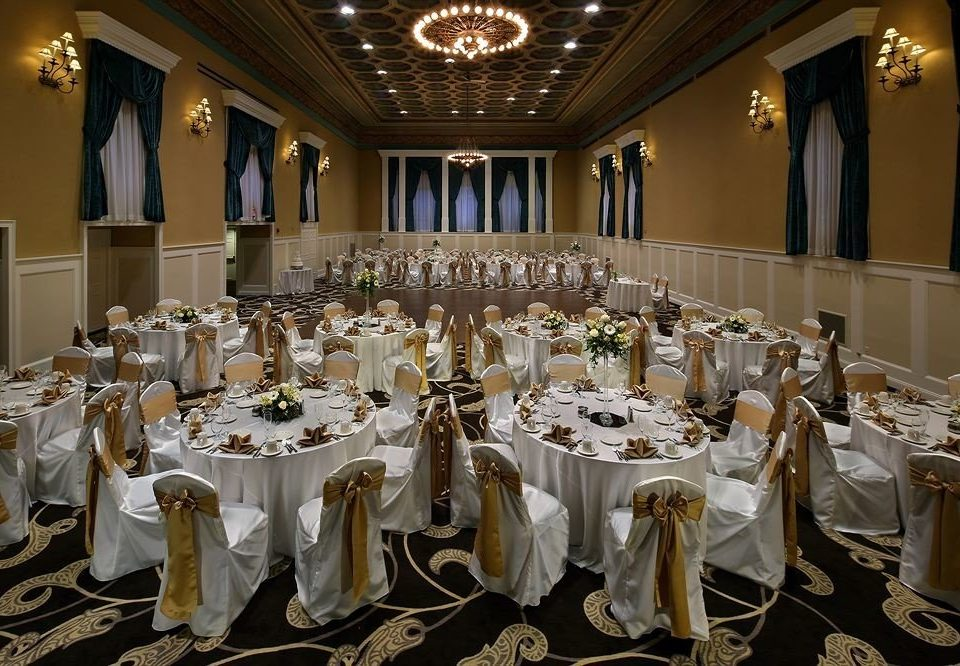 function hall banquet ceremony wedding wedding reception ballroom Party event dining table