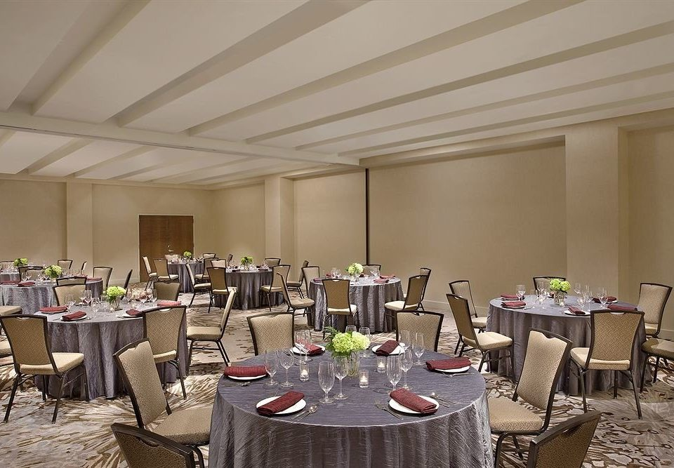 chair function hall banquet conference hall ballroom restaurant Party convention center meeting set