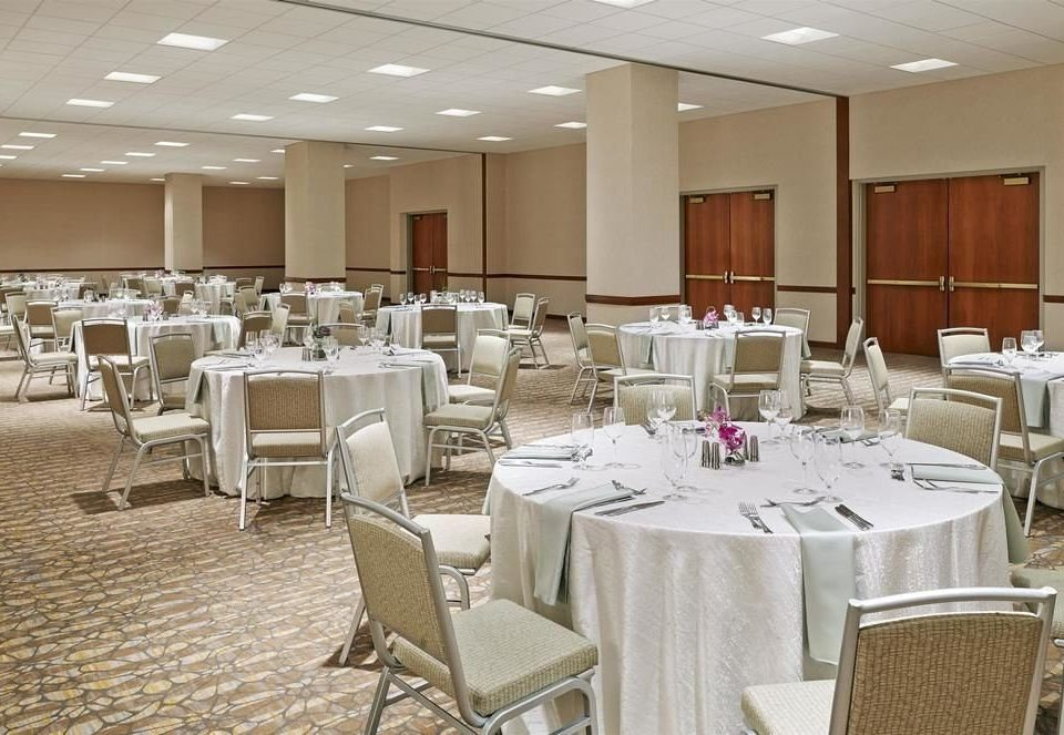 chair function hall banquet restaurant conference hall ballroom Party convention center dining table