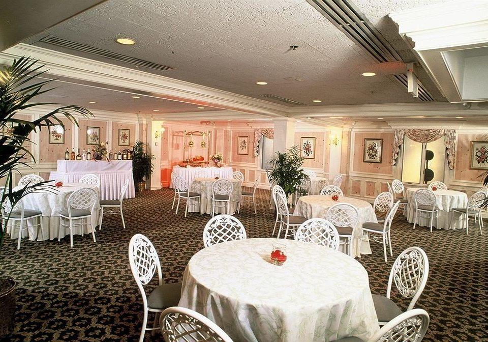 chair function hall banquet restaurant wedding wedding reception ballroom Party dining table