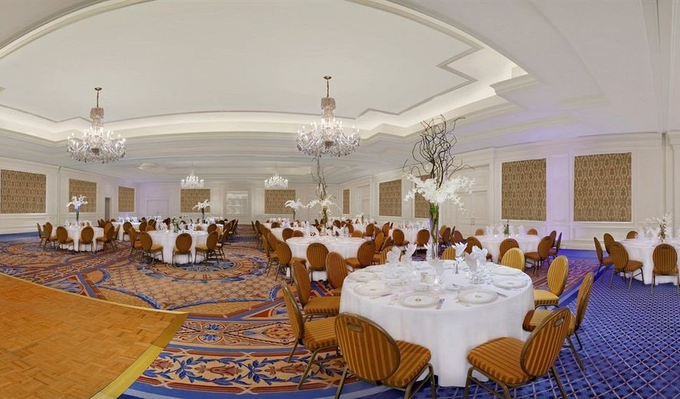 function hall chair banquet ballroom Party conference hall convention center wedding reception dining table