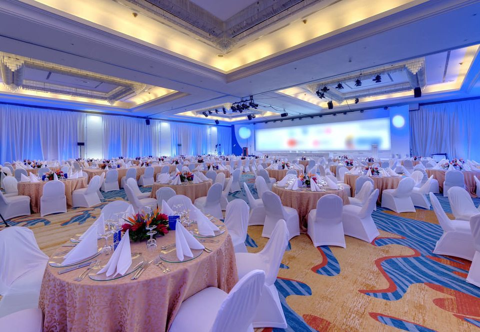 function hall banquet scene Party ballroom convention center wedding reception conference hall restaurant clothes