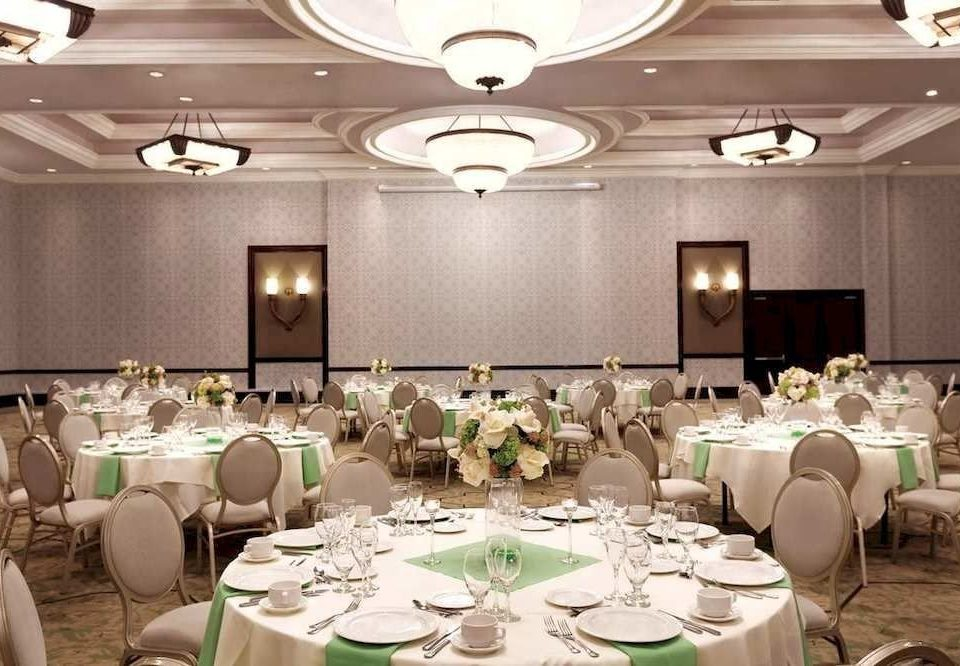 function hall plate banquet restaurant ballroom Party conference hall wedding reception set dining table