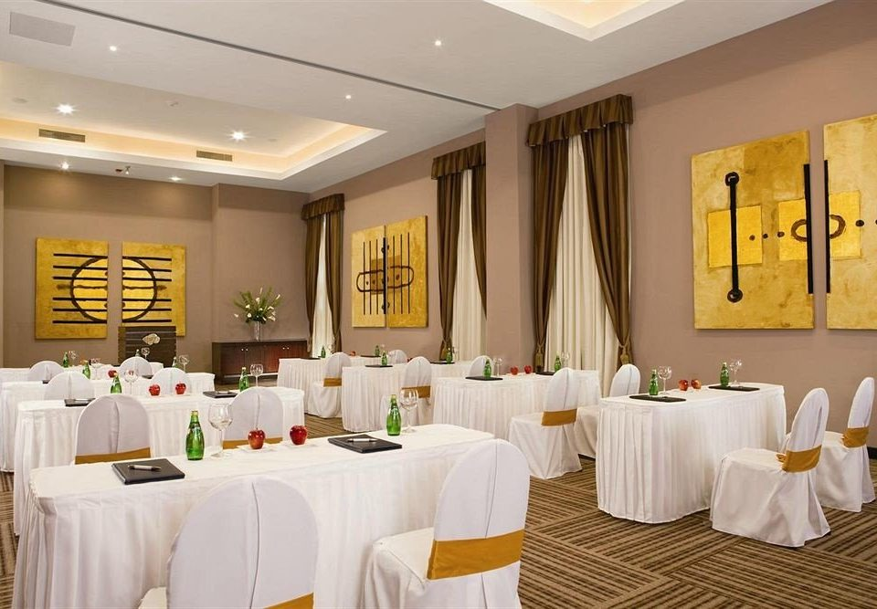 function hall restaurant banquet white ballroom Party counter conference hall