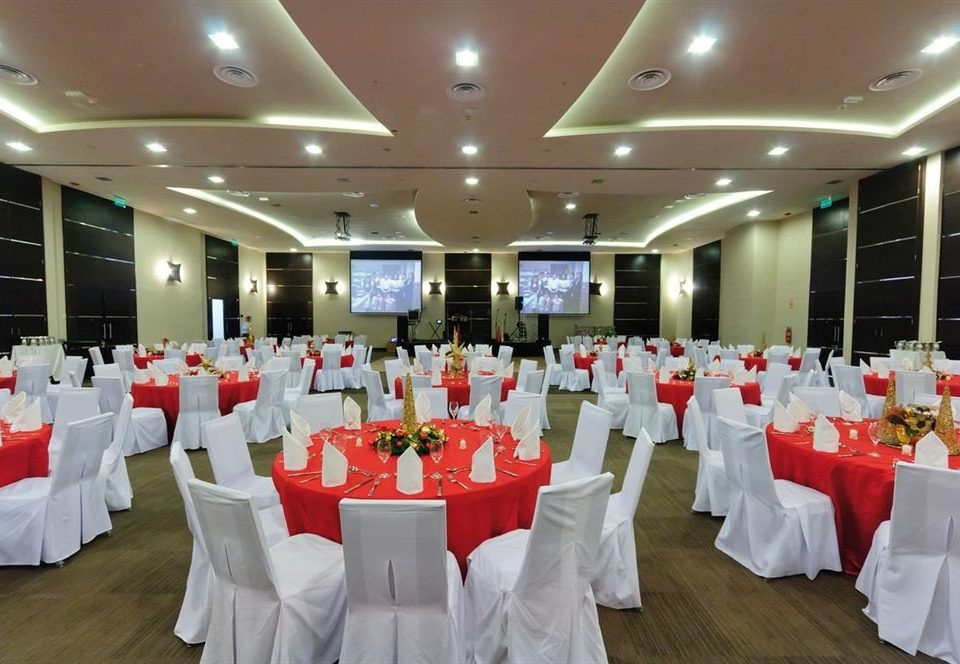 function hall banquet Party scene conference hall ballroom convention center wedding reception restaurant long line