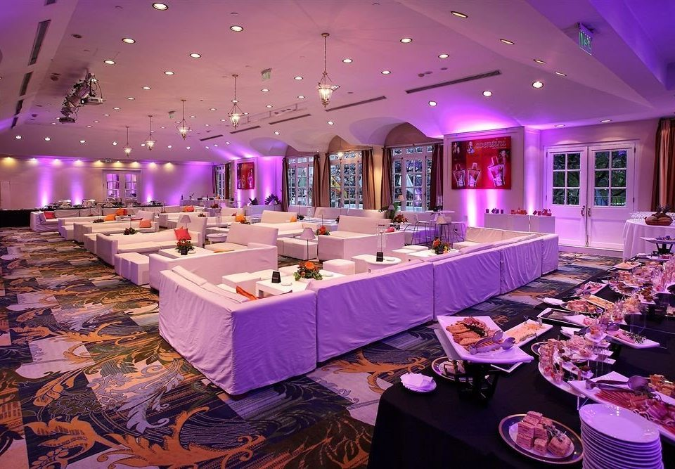 function hall banquet quinceañera purple Party wedding reception ballroom restaurant