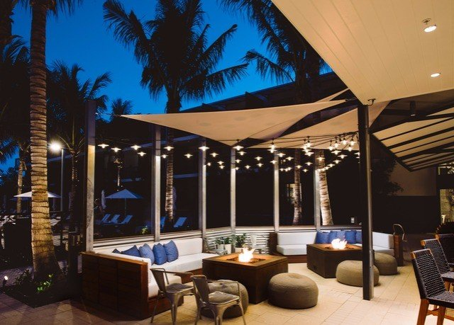 property lighting Resort Patio restaurant penthouse apartment roof