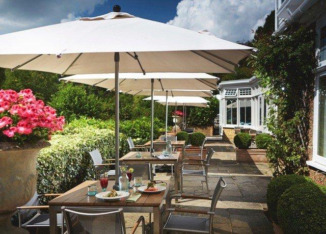 tree chair property cottage restaurant outdoor structure Villa Resort backyard Patio set