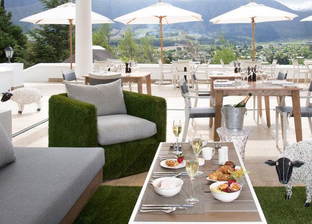 mountain property Picnic Villa Resort restaurant backyard cottage