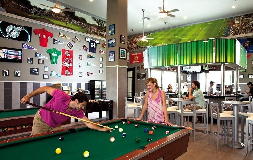 pool table poolroom pool ball gambling house recreation room scene carom billiards billiard room leisure green cue sports games Play indoor games and sports sports