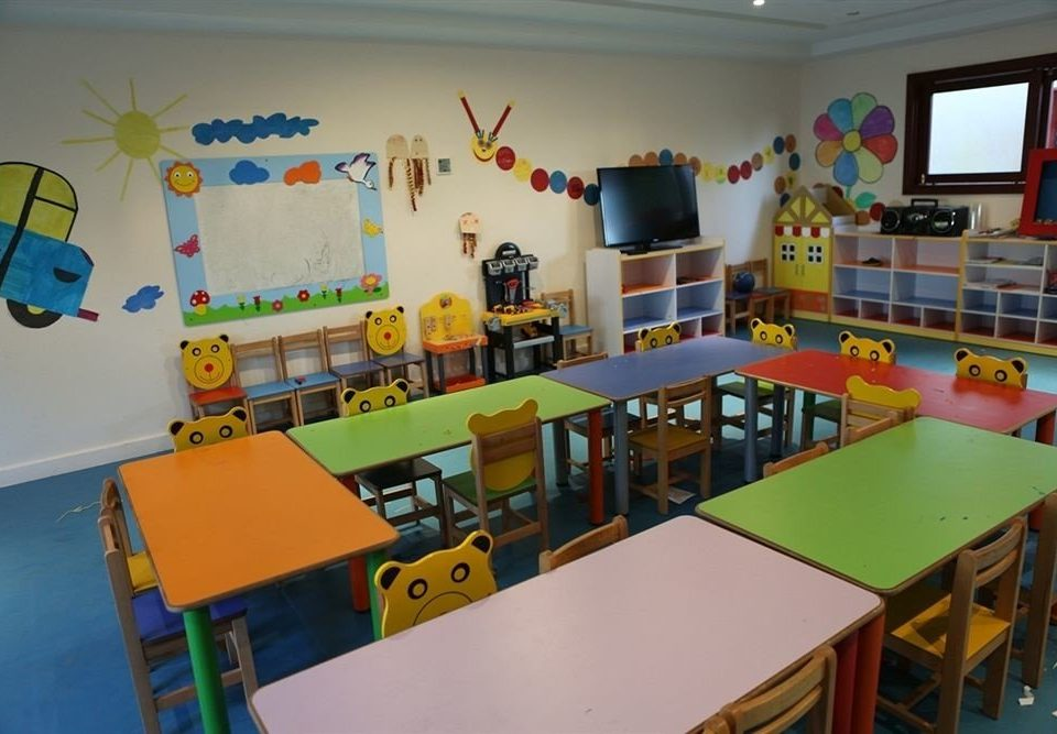 kindergarten classroom Play toy school recreation room