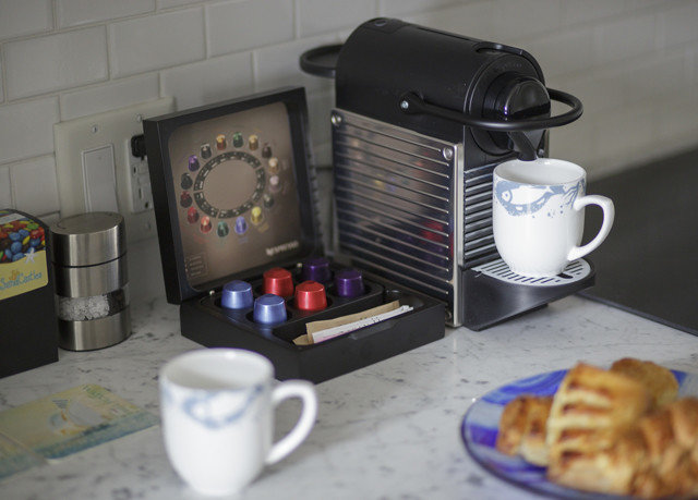 coffee cup Play machine kitchen appliance cluttered