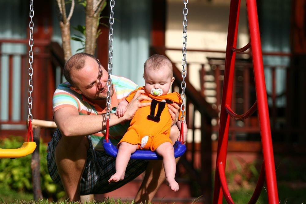 swing outdoor object fun little child Play amusement park park Playground climbing frame jungle gym