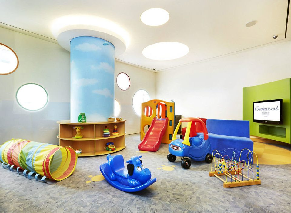 color Play living room colorful Playground blue colored bright