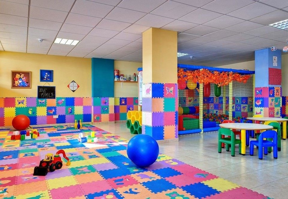 kindergarten leisure Play sport venue Playground classroom colorful school colored