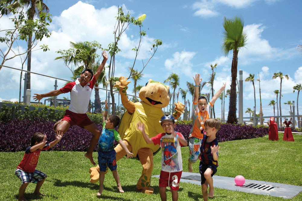 sky grass tree playing Play Playground group outdoor play equipment