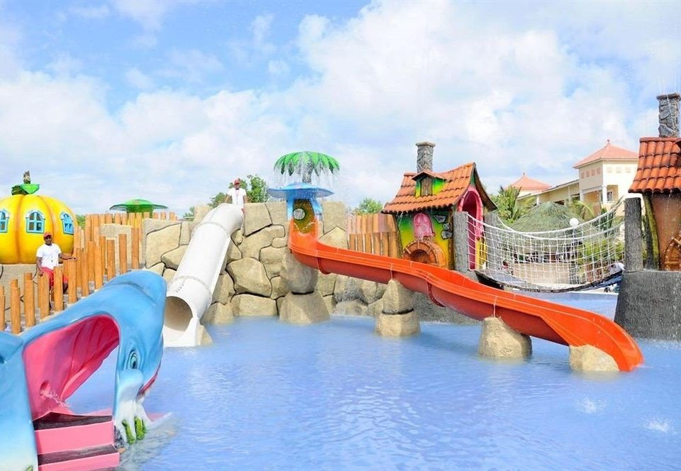 sky water amusement park Water park leisure park Resort Play outdoor recreation recreation swimming pool Playground swimming colored