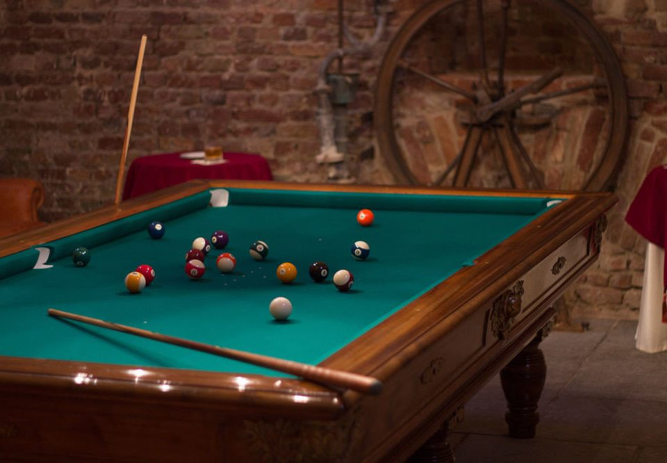 pool table poolroom pool ball Pool cue sports english billiards billiard room recreation room carom billiards pocket billiards billiard table games indoor games and sports sports gambling house recreation Play cue stick nine ball individual sports