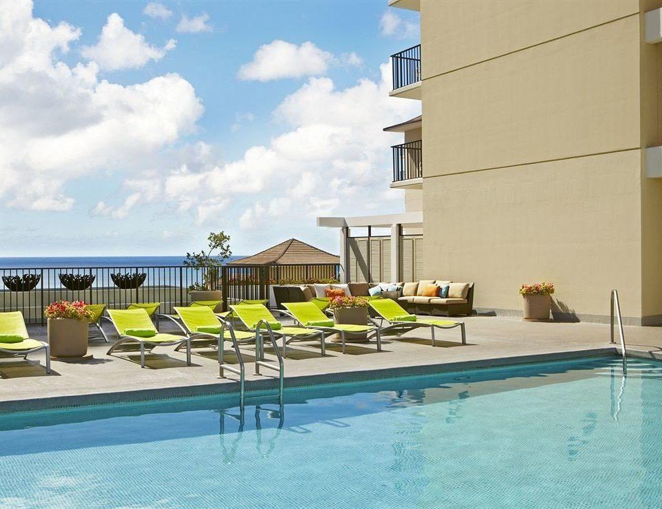 Play Pool Resort Scenic views swimming pool leisure property condominium Villa swimming
