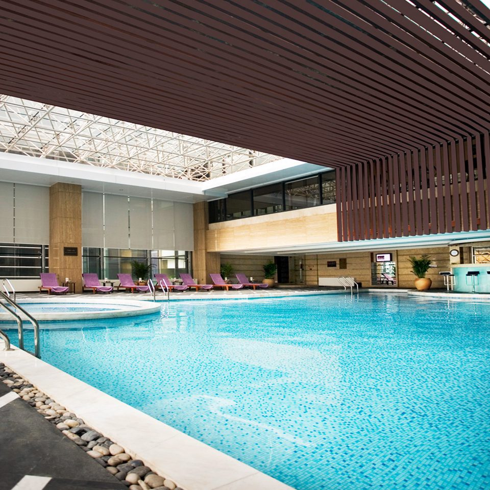 Play Pool Resort building swimming pool property leisure swimming blue leisure centre Villa backyard