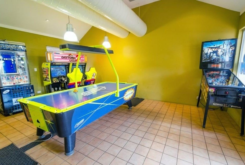 recreation room property yellow Play