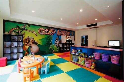 building recreation room Play Resort classroom colorful colored