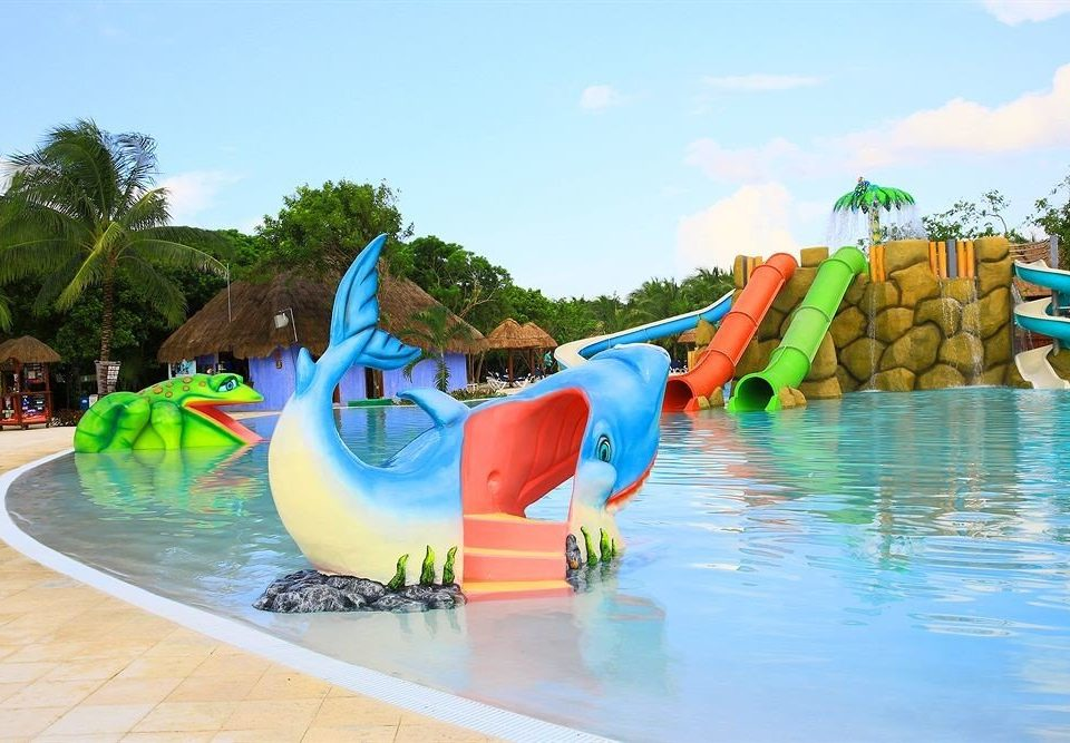 sky amusement park Water park leisure park swimming pool Resort Play outdoor recreation recreation playground slide nonbuilding structure swimming colorful colored